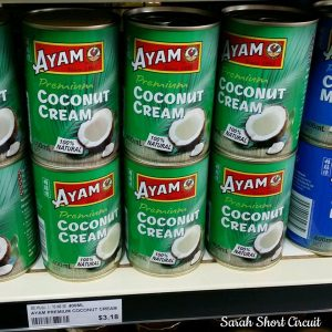 Recommended coconut cream to use